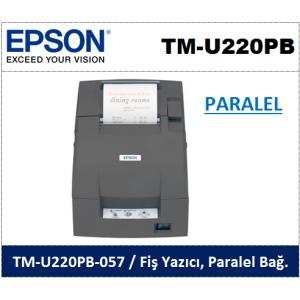 Epson TM-U220PB Paralel Portlu Fiş Yazıcı
