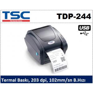 TSC TDP-244 Direkt Termal Barkod Yazıcı
