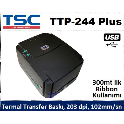Tsc ttp 244 plus barcode printer installation youtube.