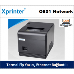 Xprinter Q801 Network Termal Yazıcı
