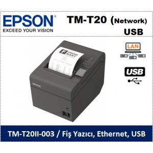 Epson TM-T20II Network-USB Termal Fiş Yazıcı