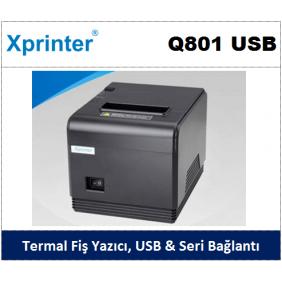 Xprinter Q801 USB & Seri Termal Fiş Yazıcı